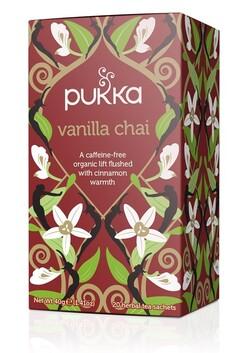 Vanilla Chai Pukka Tea Bags