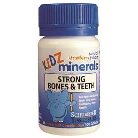 Strong Bones & Teeth Kidz Minerals
