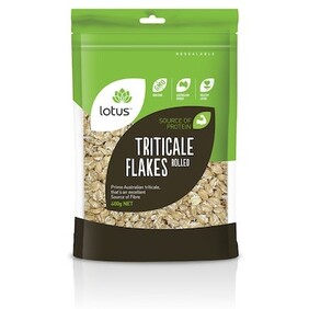 Rolled Triticale Flakes