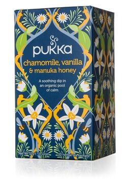 Chamomile, Vanilla, Manuka Honey Pukka Tea Bags