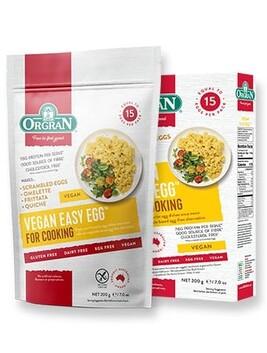 Gluten Free Easy Egg Vegan